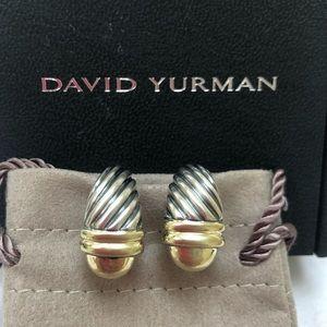 🔴Authentic DAVID YURMAN Shirimp Look Earrings 🔴